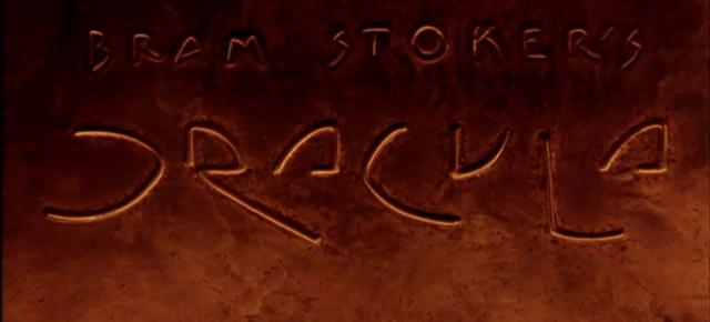 bram stoker's dracula title