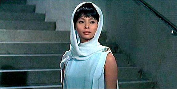 """Akiko Wakabayashi plays Aki in """"You Only Live Twice"""""""
